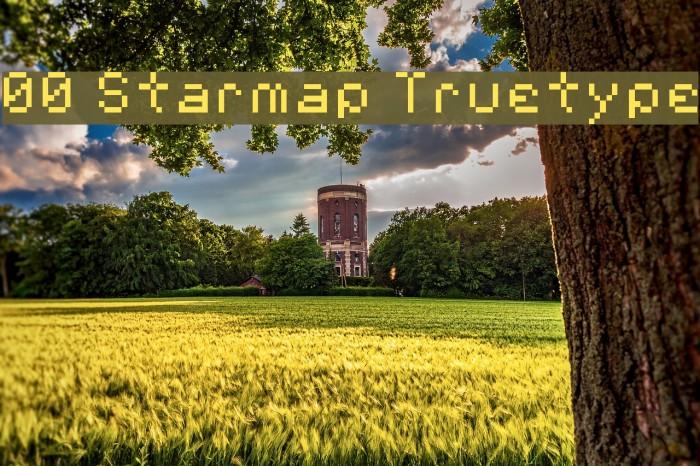00 Starmap Truetype لخطوط تنزيل examples