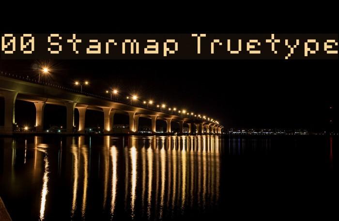 00 Starmap Truetype Fonte examples