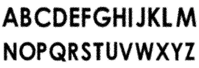 01-01-00 Font UPPERCASE