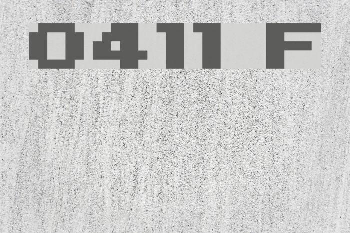 04b11 Font examples