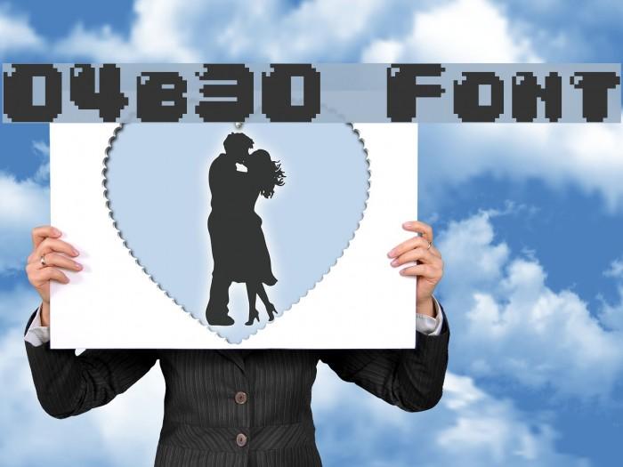 04b30 फ़ॉन्ट examples