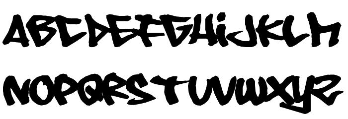 08 Underground Font LOWERCASE