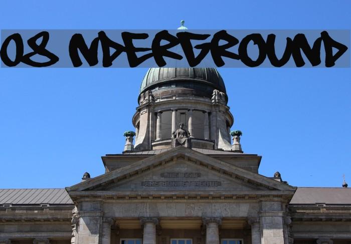 08 Underground Fonte examples