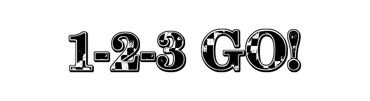 1-2-3 GO!  Descarca Fonturi Gratis
