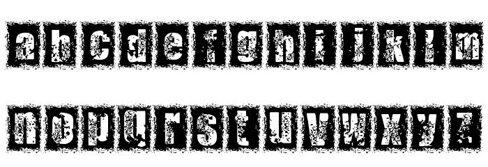 1 DIMENCION Font LOWERCASE