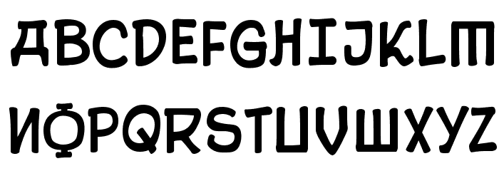 10 Cent Soviet Font Litere mari