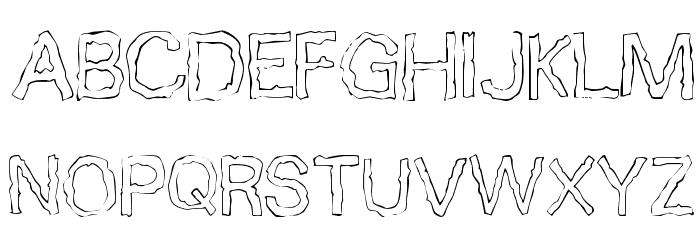 10 Minutes Font UPPERCASE