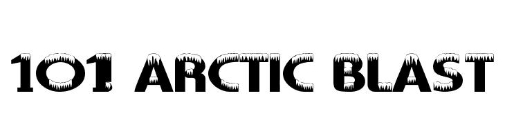 101! Arctic Blast  baixar fontes gratis