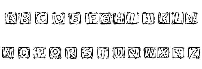 101! BoXY 'Bet Font UPPERCASE