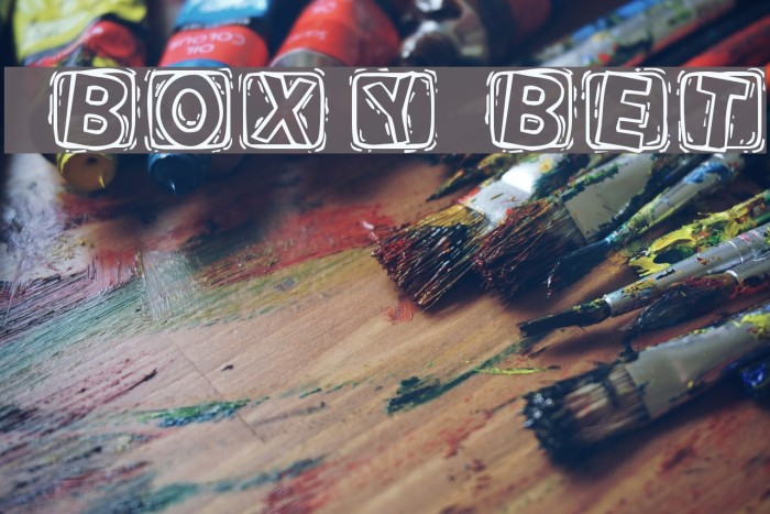 101! BoXY 'Bet Fonte examples