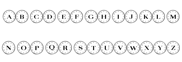 101! Compass Шрифта ВЕРХНИЙ