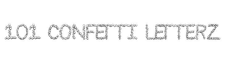 101! Confetti LetterZ  Free Fonts Download