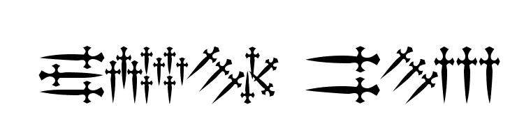 101! Dagger 'Bet  Free Fonts Download