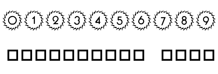 101! Deco Type 1 Font OTHER CHARS