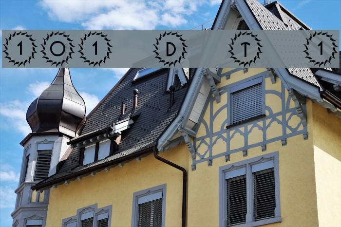 101! Deco Type 1 Font examples