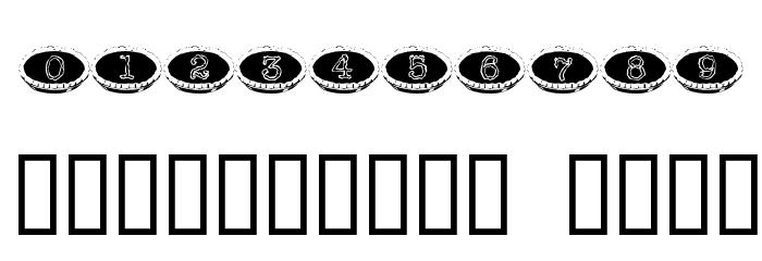 101 Punkin Pie Шрифта ДРУГИЕ символов