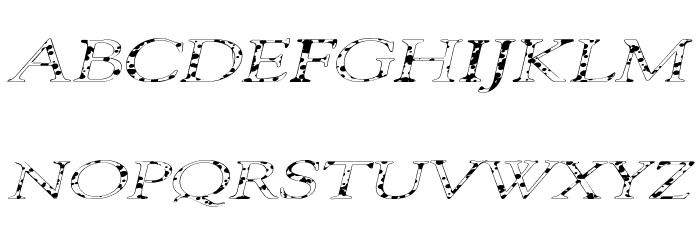 101 Puppies Italic SW لخطوط تنزيل الأحرف الكبيرة