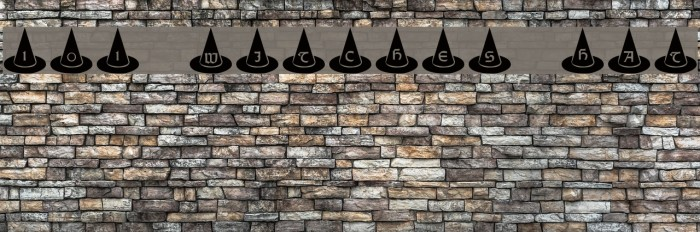 101! Witches Hat Шрифта examples