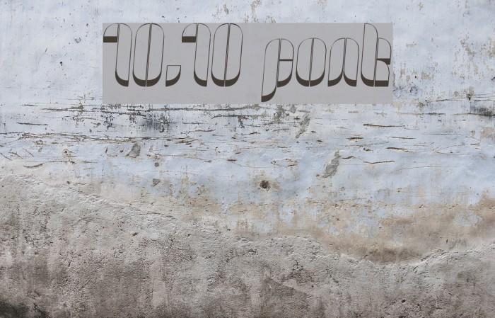 10.10 字体 examples