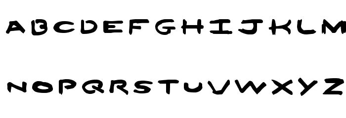 12Ounces[ Font UPPERCASE