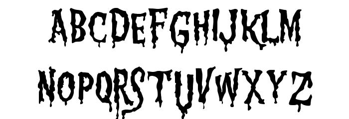 1313 MockingbiRd Lane Font Litere mici
