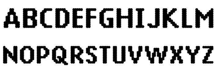 14 LED Font Litere mari