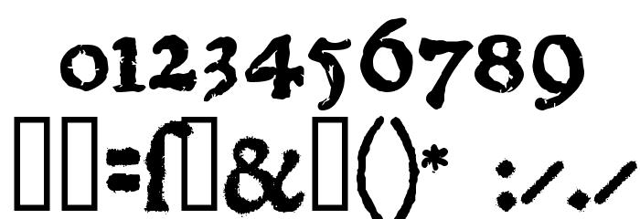 1470Jenson SemiBold フォント その他の文字