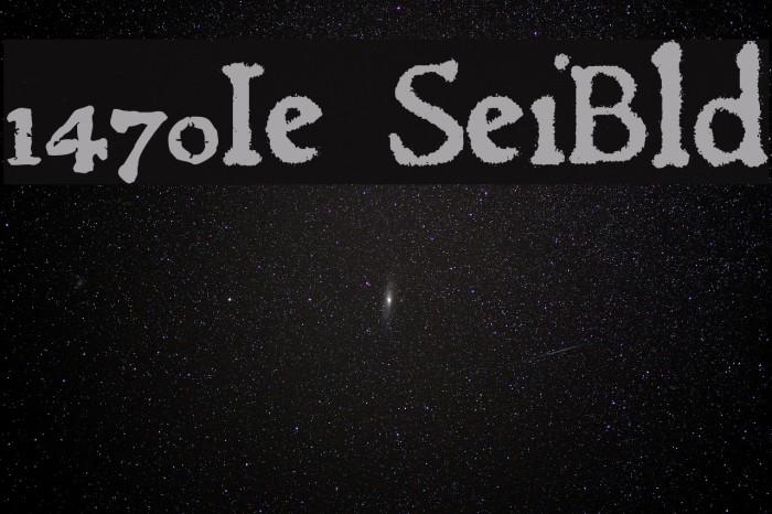 1470Jenson SemiBold フォント examples