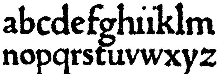 1470Jenson SemiBold フォント 小文字