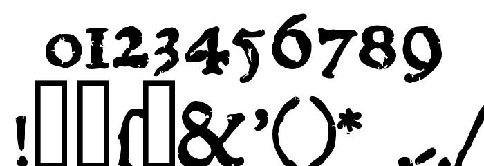 1543HumaneJenson Bold Font Alte caractere