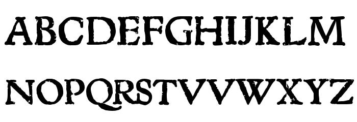 1543HumaneJenson Bold Font Litere mari