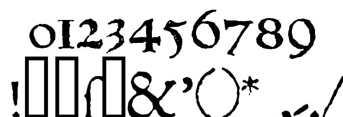 1543HumaneJenson Normal Font Alte caractere