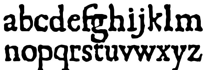 1550 Font Litere mici