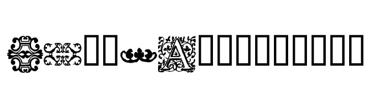 16th_Arabesques  les polices de caractères gratuit télécharger