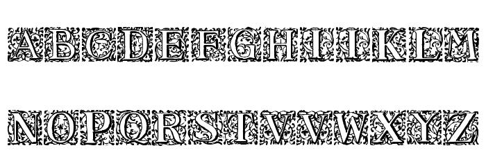 16th_Arabesques Font Litere mari