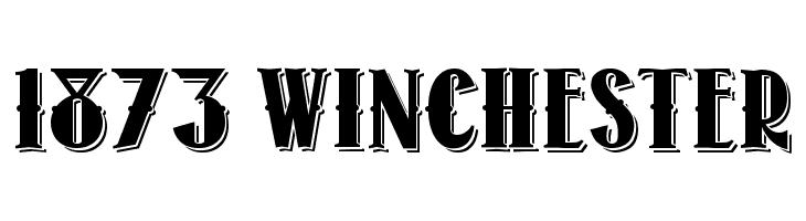 1873 Winchester  font caratteri gratis