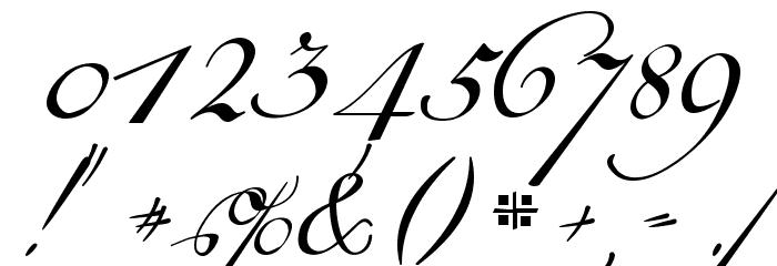 18th Century Kurrent Alternates Font Alte caractere