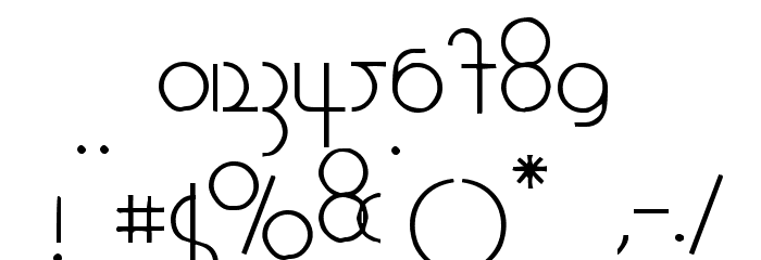 1920 Font OTHER CHARS