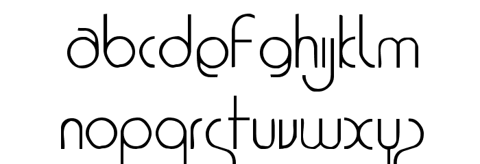 1920 Font UPPERCASE