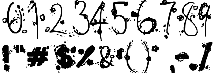 ~1925~ Font OTHER CHARS