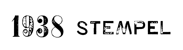 1938 STeMPEL  Free Fonts Download