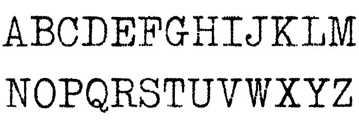 1952 RHEINMETALL Шрифта ВЕРХНИЙ