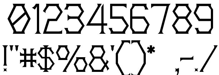 20th Centenary Faux 字体 其它煤焦