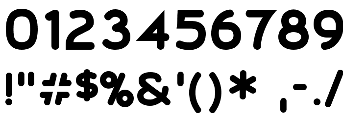 20th Century Font Font OTHER CHARS