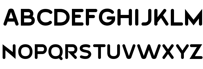 20th Century Font Font UPPERCASE