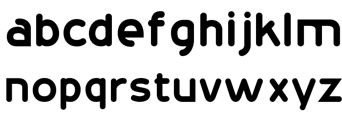 20th Century Font Font LOWERCASE