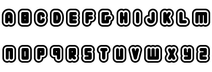 22 03 Font UPPERCASE