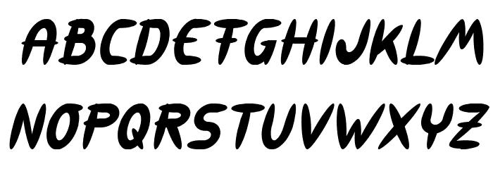 309 Italic Font LOWERCASE