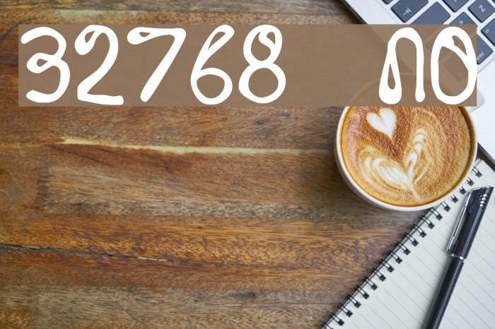 32768 NO Fonte examples
