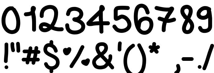 365Letters Шрифта ДРУГИЕ символов
